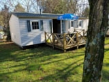 Rental - Mobile-Home Les Pins 32M² - Camping Hello Soleil