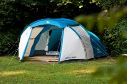 Tent With Bedding