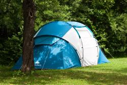 Family Rental Tent With Two Bedrooms