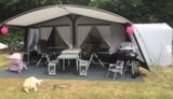 Pitch - Camping Pitch Deluxe (Private Sanitary Facilities) - Camping Borken am See