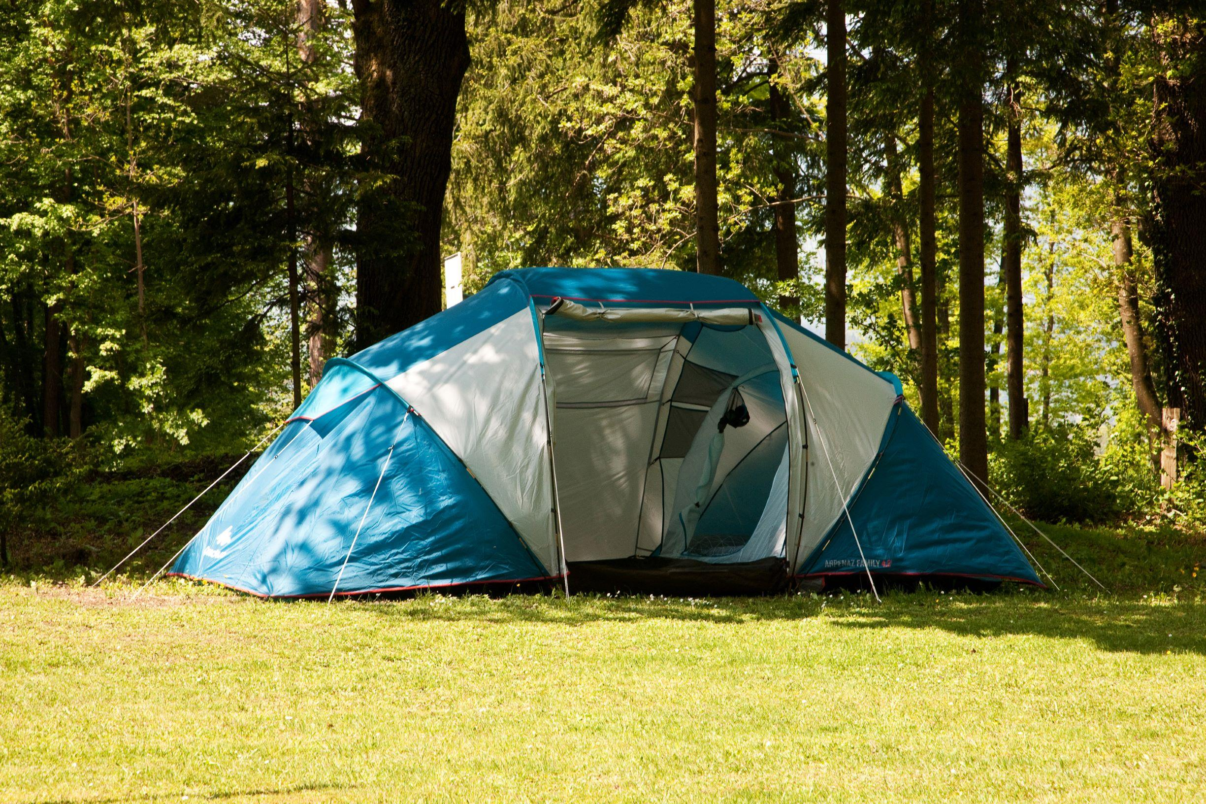 Location - Tente - Forest Camping Mozirje