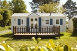 Rental - Mobile Home Confort 2 Bedrooms - Camping la Mer Blanche