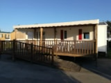 Rental - Mobile Home Grand Confort 2 Bedrooms (Adapted To The People With Reduced Mobility) - Camping la Mer Blanche