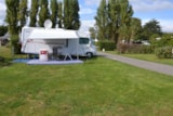 Pitch - Pitch + vehicle +  electricity 6A - Camping la Mer Blanche