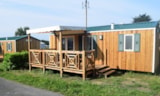 Rental - Mobile Home Grand Confort 30M² - Camping la Mer Blanche
