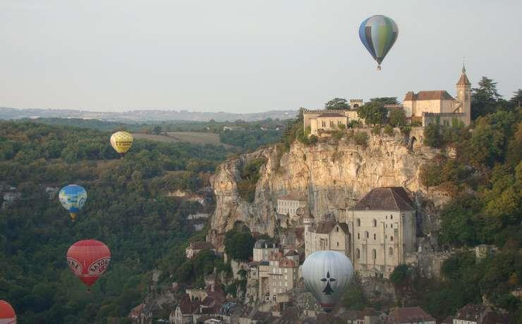 Location - Weekend Mongolfiades Rocamadour 28-29/09 (1 Nuit) - Camping Le Rêve