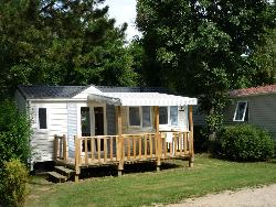 Mobil-Home 2 Bedrooms With Covered Terrace (Wednesday/Wednesday)