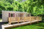 Rental - Mobile home - 2 bedrooms / Terrace (adapted to the people with reduced mobility) - Camping Sites et Paysages DOMAINE DE LA CATINIÈRE