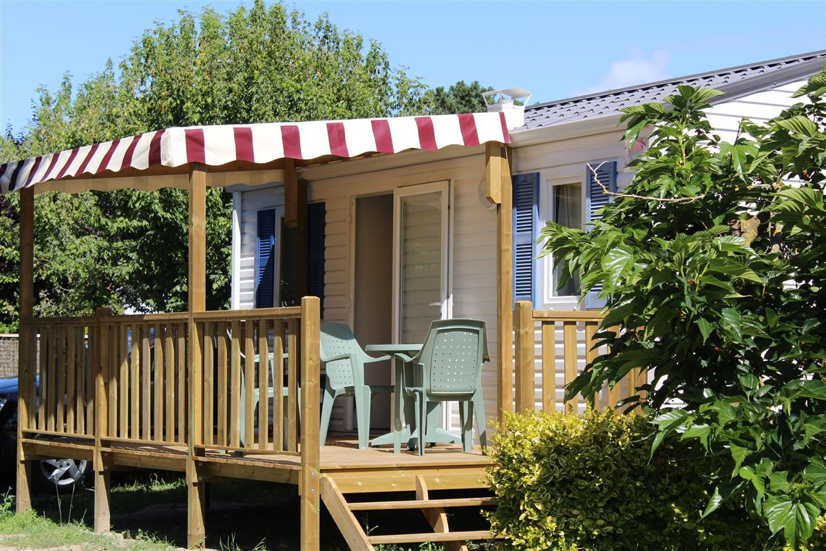 Rental - Mobile-Home 1 Bedroom - Modulo 2008 - Camping L'Hermitage des Dunes