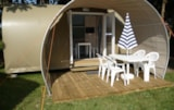 Rental - Coco Sweet 16M² - 2 Bedrooms - Without Toilet Blocks - Villa Cottage in Loire Valley - Camping Le Cardinal