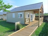 Rental - Chalet Origan 2 bedrooms Wheelchair friendly - Camping les Chardons Bleus