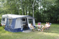Campingpitch incl. 2 people, electricity and car