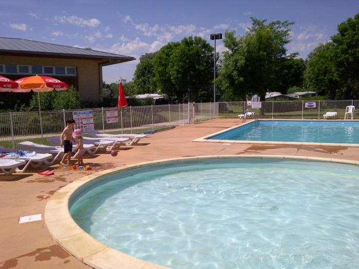 Zwemplezier Le Vert Lagon - Woka Camping - Marnay