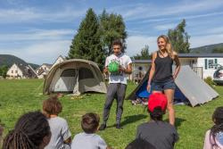 Entertainment organised Camping Le Vercors - Autrans