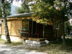 Accommodation - Chalet Confort 35M² Middel Season Sunday - Camping la Cascade