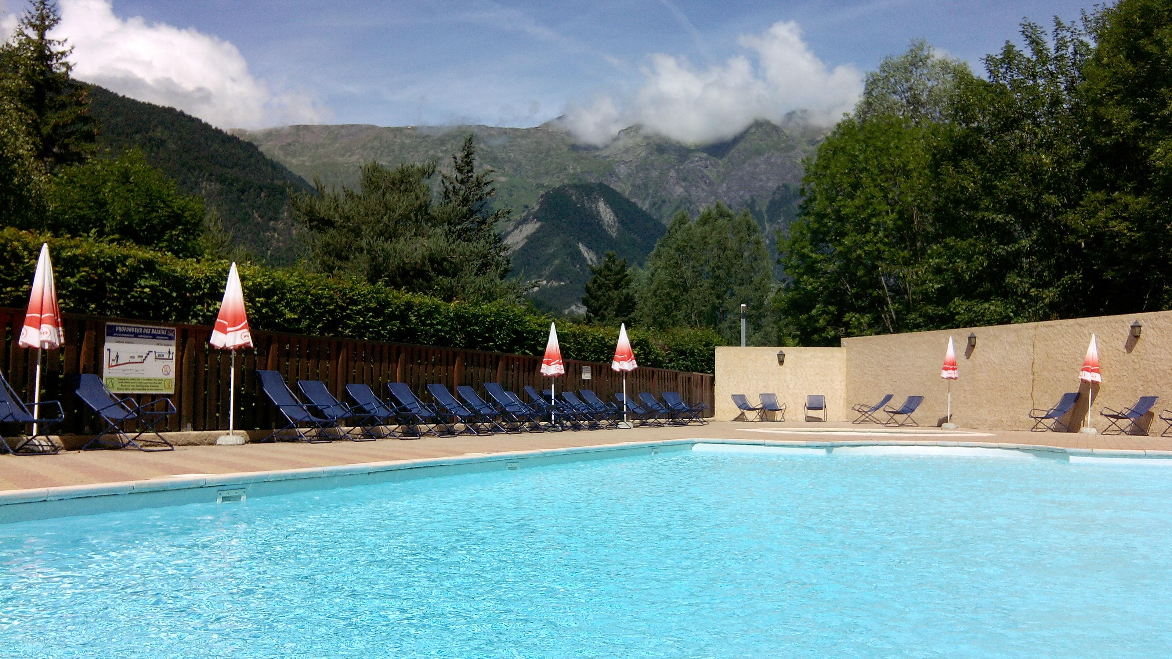 Mare, piscina Camping La Cascade - Bourg D'oisans