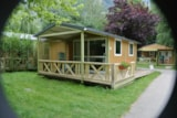 Rental - Chalet (for disabled persons) - Camping Le Colporteur