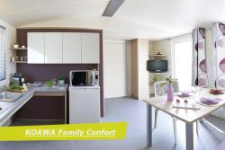 Location - Koawa Family Confort Pmr 35M2 - 2 Chambres - Camping Château de Rochetaillée