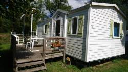 Accommodation - Mobilhome-23 - Camping L'Arc-en-Ciel