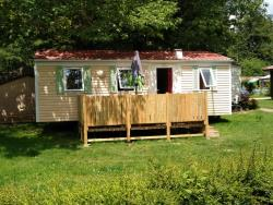 Mietunterkunft - Mobil-Home 3 Chambres 6/7 Personnes - Camping Les Eydoches