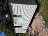 Rental - Mobile home with toilet block - Camping Le Champ Long