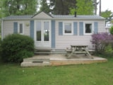 Rental - Mobile-home Eco 29m² (2 Bedrooms) + terrasse - Flower Camping Les Capucines