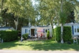 Rental - Mobile-home Eco 26m² (2 Bedrooms) + terrasse - Flower Camping Les Capucines