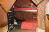 Rental - Lodge Victoria 30m² (2 Bedrooms) + Covered terrace - Flower Camping Les Capucines