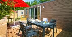 Location - Mobil Home Roomy 38M² - Camping de Savel