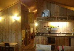 Accommodation - Safaritent Woody 38 - Camping de Savel