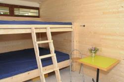 Bedroom - Dormitory / Group Accommodation With 2 Large Bunk Beds. 2Pm/1Pm - Camping Pré Rolland