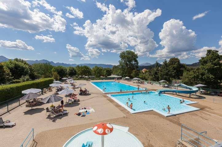Mare, piscina Camping Pré Rolland - Mens