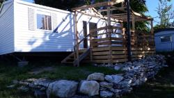Location - Mobile Home Orchidée - Camping Le Balcon De Chartreuse
