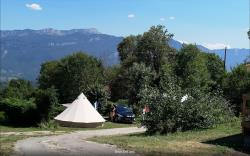 Pitch - Pitch With Electricity - Camping Le Balcon De Chartreuse