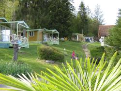 Huuraccommodaties - Chalet Coquelicot 24M² - Camping Le Balcon De Chartreuse