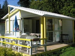 Accommodation - Chalet Verveine - Camping Le Balcon De Chartreuse