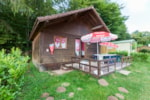 Huuraccommodaties - Chalet Edelweiss 35m² - Camping Le Balcon De Chartreuse