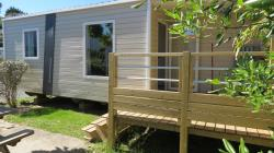 Mobile Home Loggia With Integrated Terrace