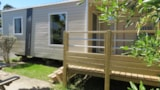 Rental - Mobile Home Loggia With Integrated Terrace - Camping Duna Munguy