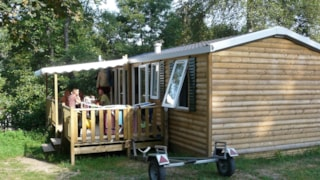 Mobile Home 3 chambres (tarif 5 personnes)