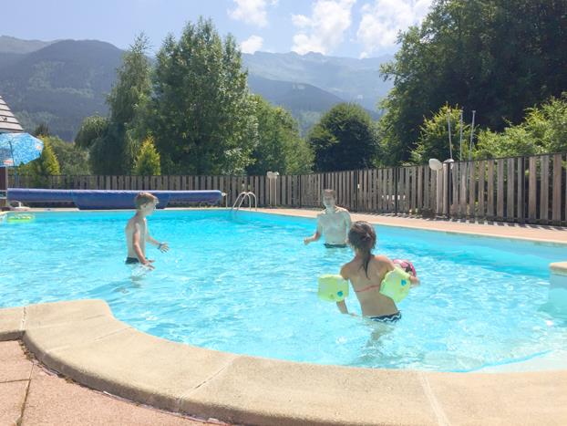 Mare, piscina Camping Les 7 Laux - Theys