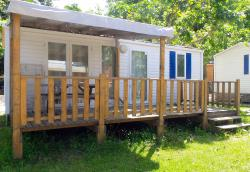 Rental - Mobile-Home Riviera - Camping D'Herbelon