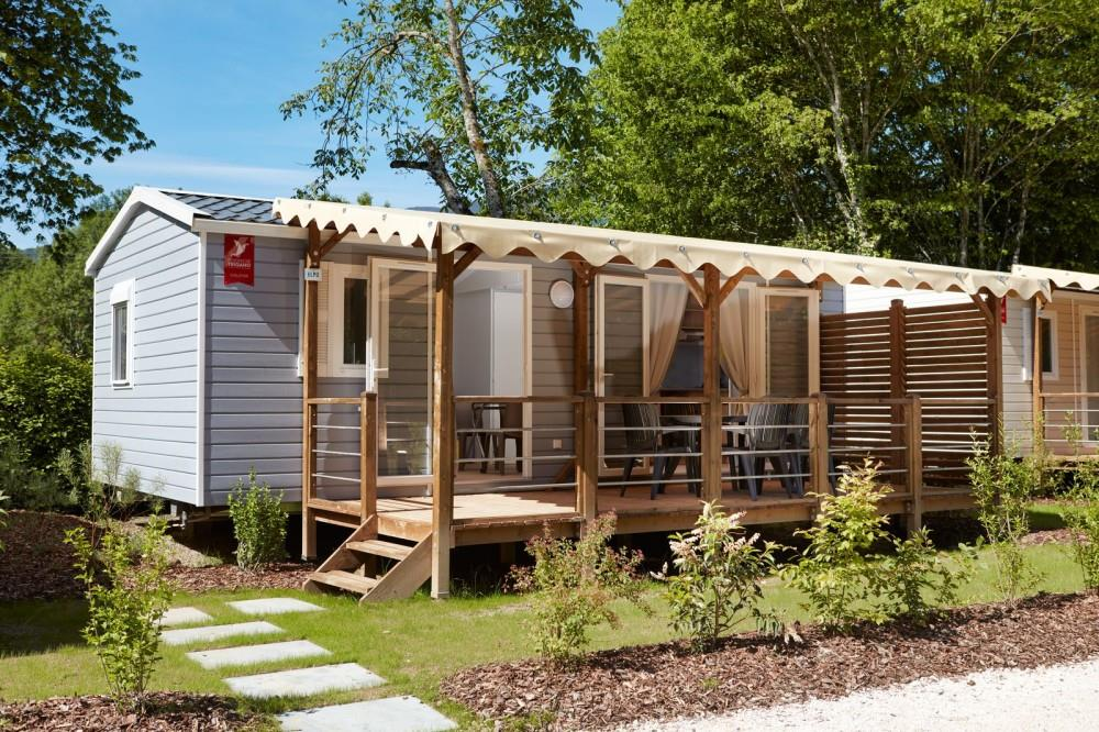 Mobil-home Tilleul luxe ( 2 bedrooms)