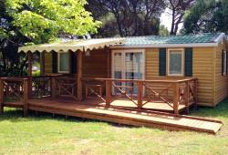 Accommodation - Mobilhome Sun Life Top Tv 31M² - Capfun - Camping Caravaneige L'Oursière