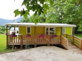 Rental - Mobil-Home Life Adapted For Persons With Reduced Mobility (2 Bedrooms, 34 M²) - Camping Le Bois de Cornage