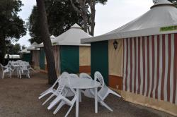 Canvas bungalow TRIGANO 5 PERS.