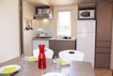 Rental - GEORGIA + place per 1 vehicle CONFORT - Camping Les Cigales