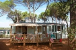 Huuraccommodaties - TEXAS 8 pers. + 2 autos ECO - Camping Les Cigales