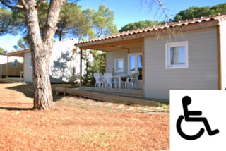 Chalet Chicana (For Disabled Person) 6 Pers. + Place Per 1 Vehicle Eco