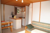 Rental - CHALET KINAL 6p. + place per 1 vehicle ECO - Camping Les Cigales